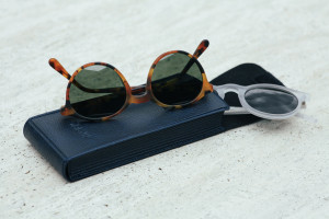 OBLYK Sunglasses Miro Matte Ghost and Abeo Matte Tortoise