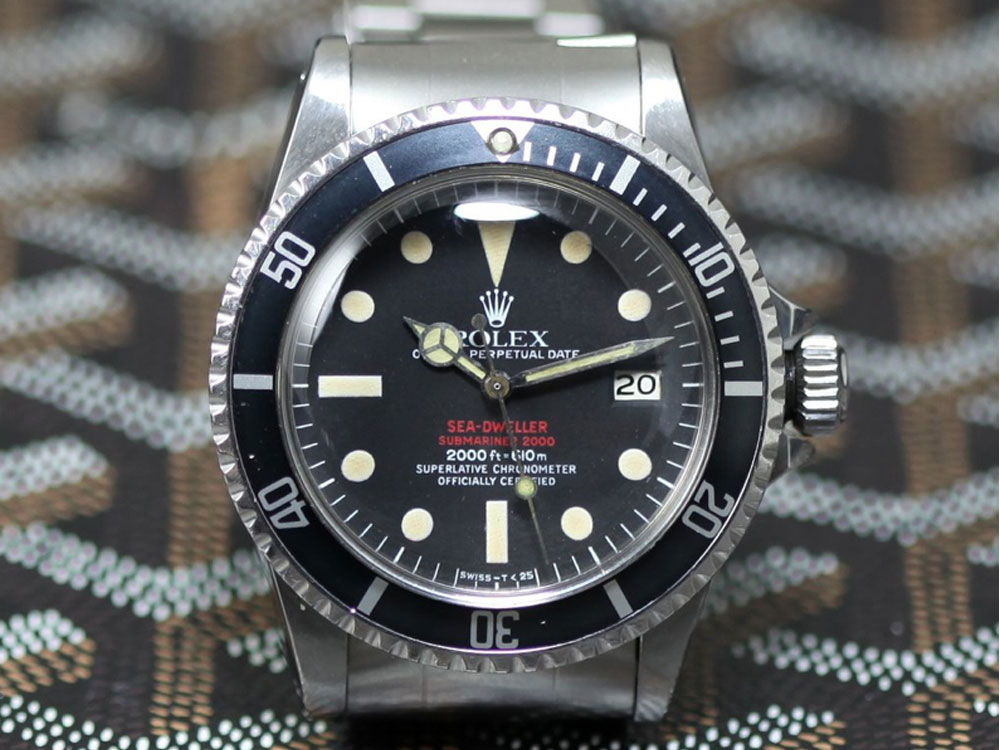 The original Rolex Double Red Sea Dweller (photo: Rolex Passion Market)