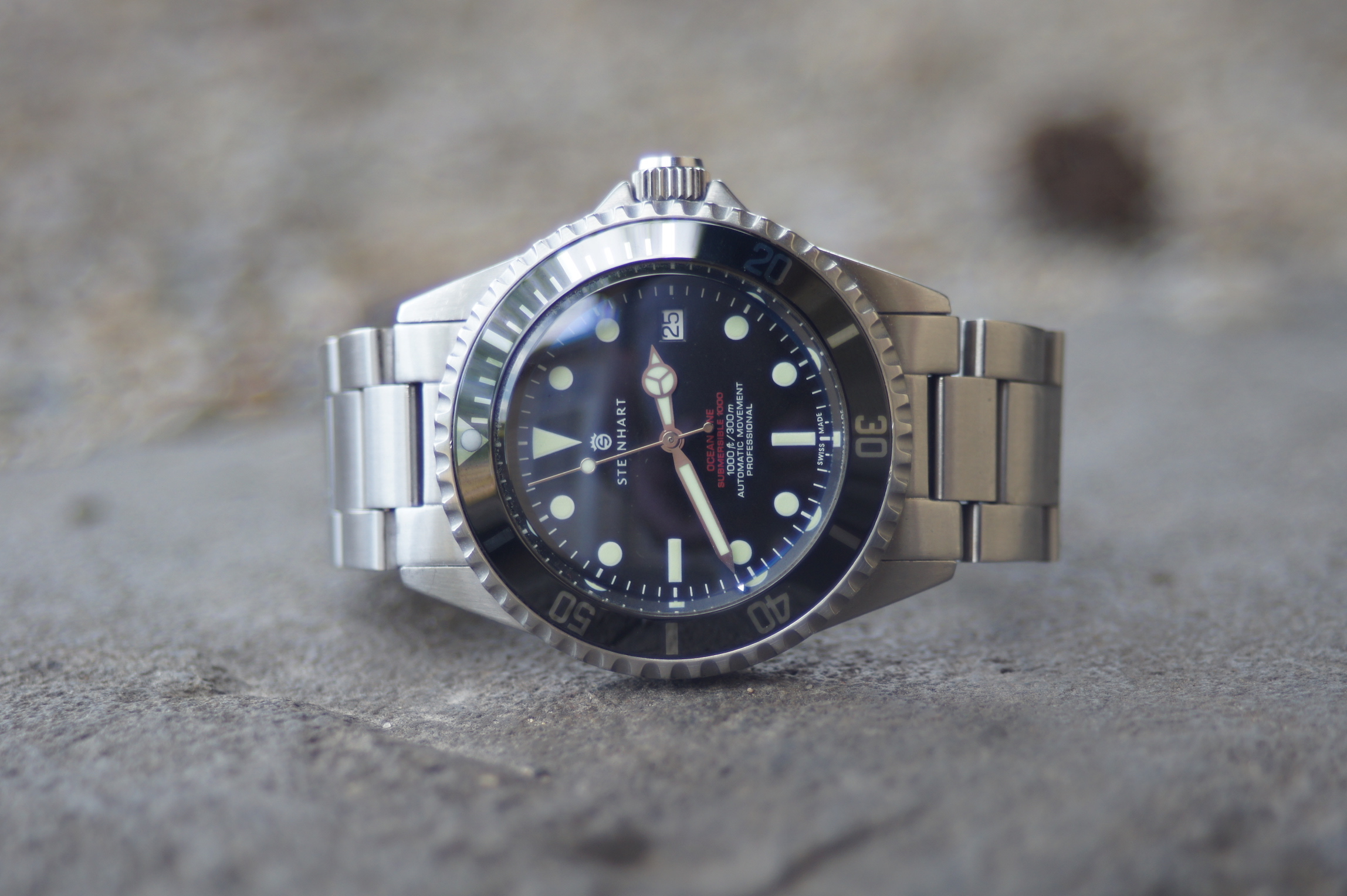 Steinhart Ocean One Vintage Red Bridge And Barrel
