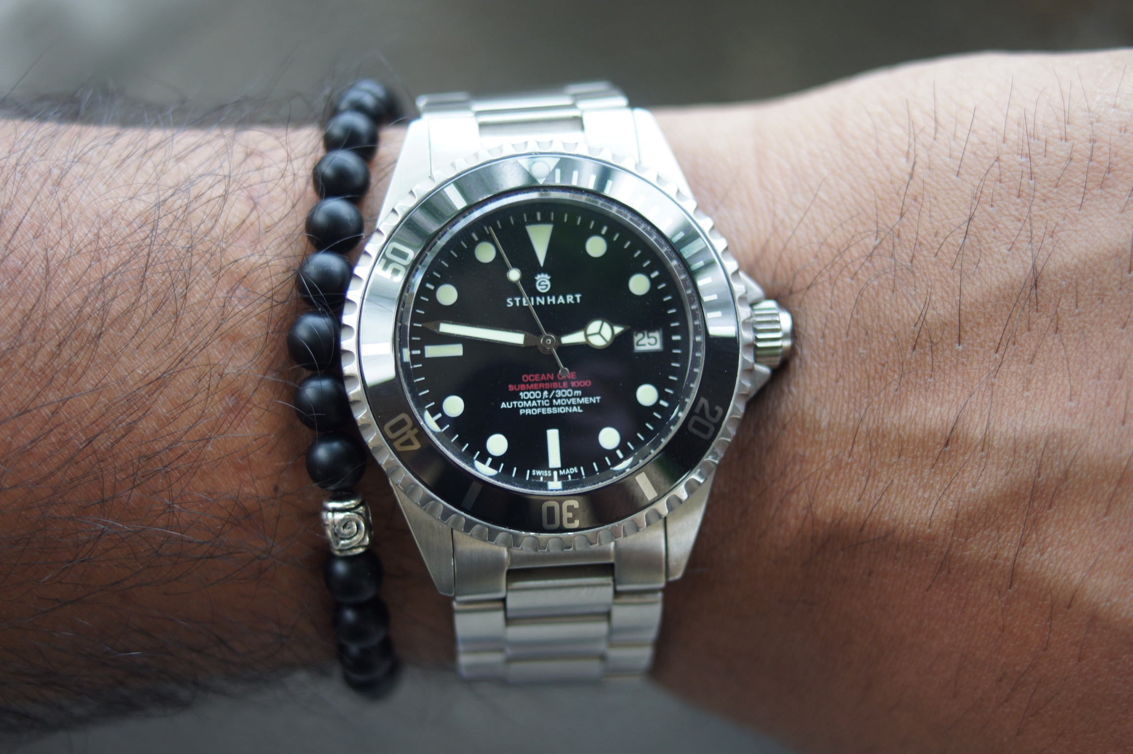Steinhart Ocean One Vintage Red